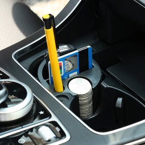 Storage Box Organizer Universal Coin Cards Container, Interior - Any Car Accessories
