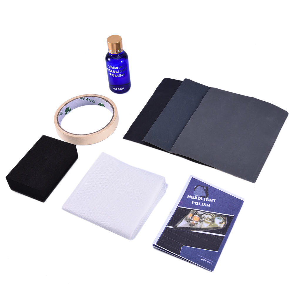 Headlight Restoration Kit, car care - Any Car Accessories