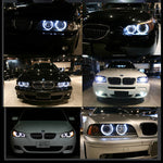 Error Free LED Angel Eyes For BMW E39  E53 E60 E61  E63 E64 E65  E66 E87 525i 530i xi 545i M5, lights - Any Car Accessories