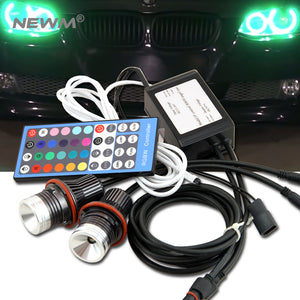 RGB LED Angel Eyes  BMW E39/E87/E63/E64/E53/E65/E66/E60/E61, lights - Any Car Accessories