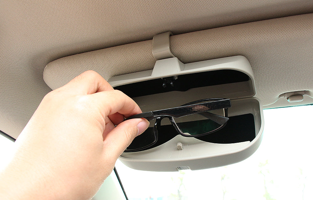 Universal SunGlasses Box Storage Holder - Any Car Accessories