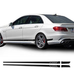 Side Stripes Decal Stickers for Mercedes Benz E Class W212 E63 amg, car decals - Any Car Accessories