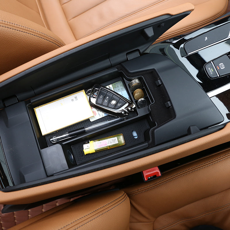 Armrest Storage Box For BMW New 5 Series G30 2017 2018, Interior - Any Car Accessories