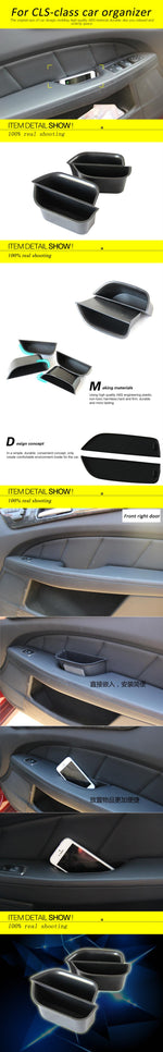 Door Handle Tray For Mercedes Benz CLS Class W218 2011-2015, Interior - Any Car Accessories