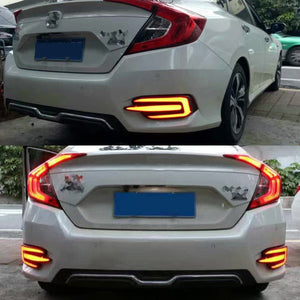 LED Rear Bumper Light For Honda Civic 2016-2017, lights - Any Car Accessories