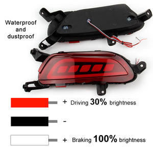 LED Rear Bumper Light For Mazda CX-3 2016 2017, lights - Any Car Accessories