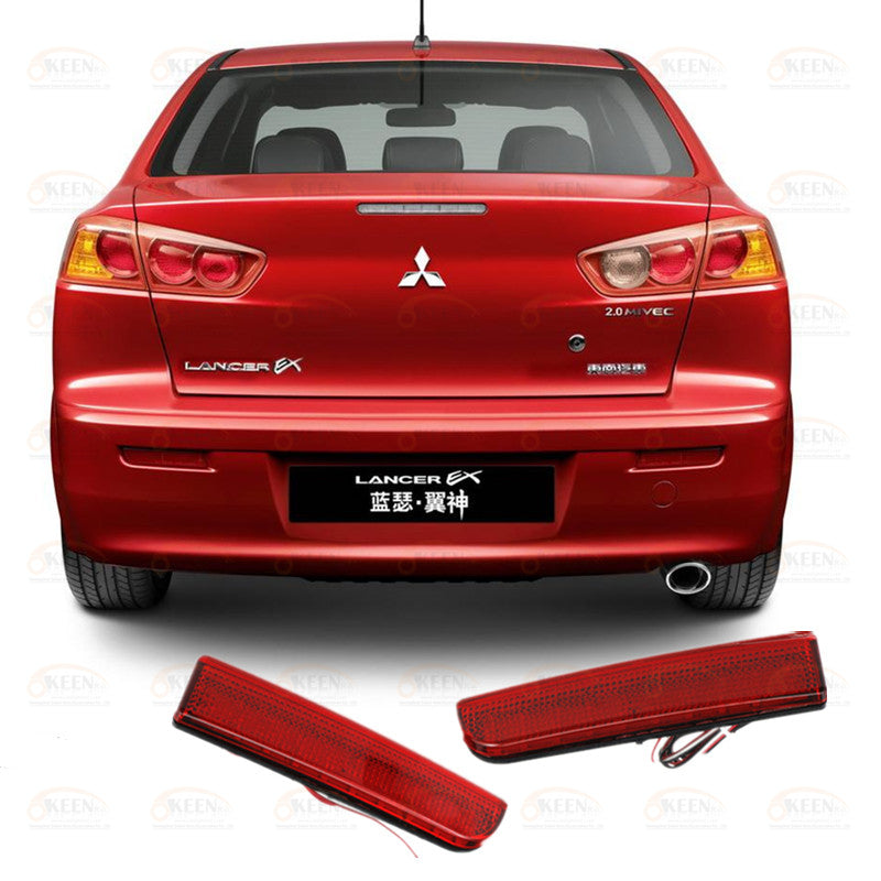 LED Rear Bumper Light For Mitsubishi Lancer Evolution EVO X/Outlander Sport/RVR/ASX, lights - Any Car Accessories