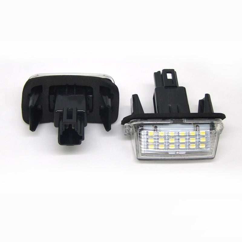 License Plate LED Lights for Toyota Corolla Camry Yaris Prius Vitz Avensis (Error Free), lights - Any Car Accessories