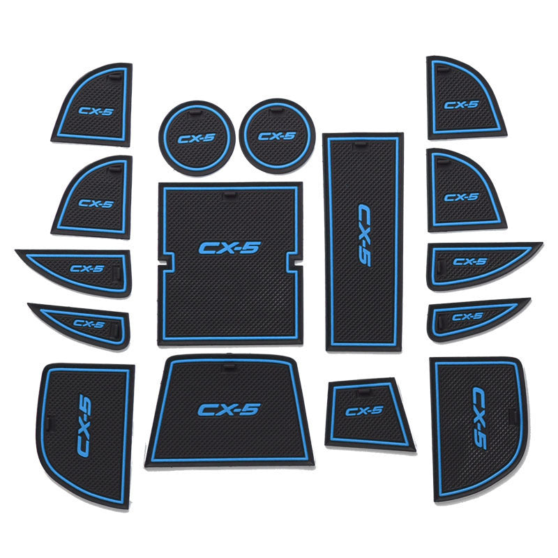 Interior Door Pads Cup Mat for Mazda 3 CX-5, Interior - Any Car Accessories