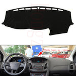 Dashboard Cover For  Ford Focus 2012 to 2016,  - Any Car Accessories
