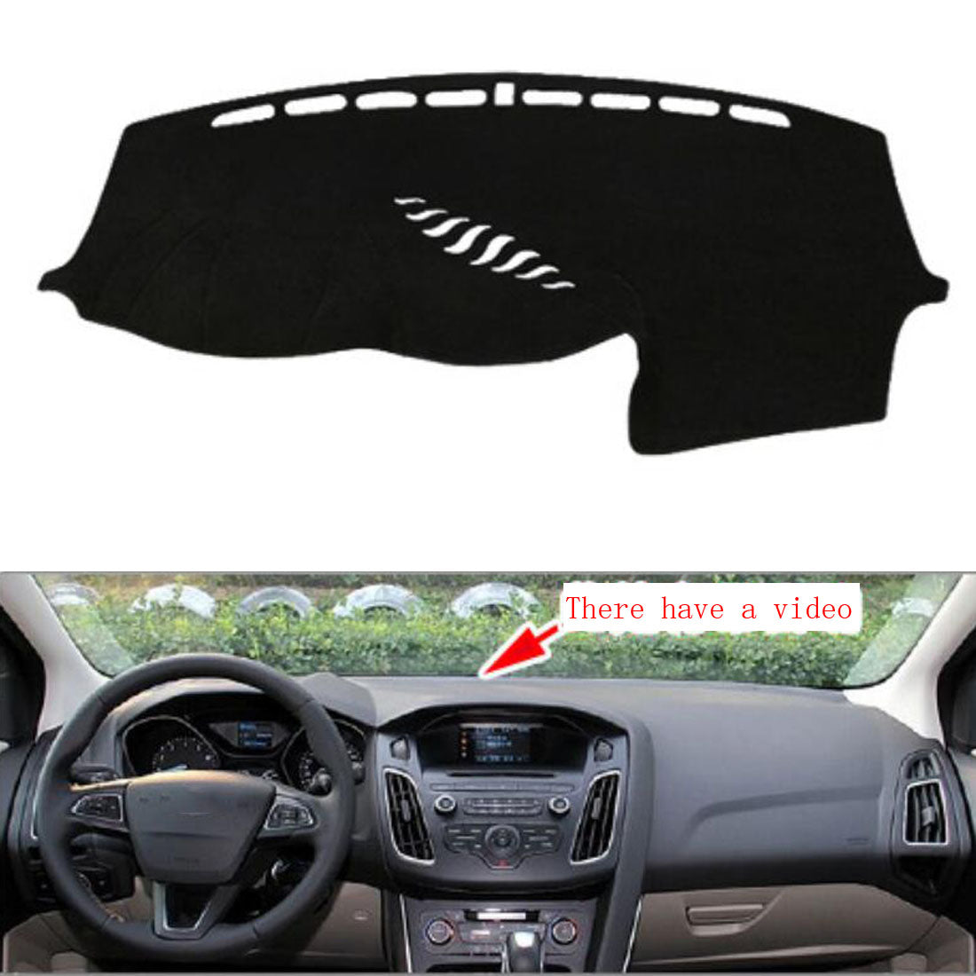 Dashboard Cover For Ford Focus 2012 - 2016,  - Any Car Accessories