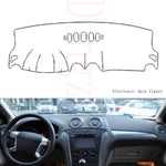 Dashboard Cover For Ford Mondeo 2004-2012,  - Any Car Accessories