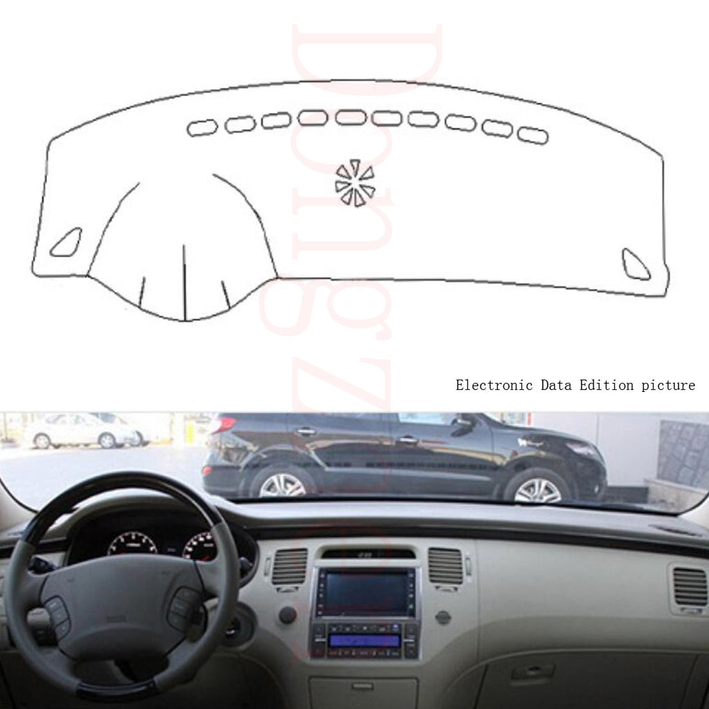 Dashboard Cover For Hyundai Azera 2006 to 2010,  - Any Car Accessories