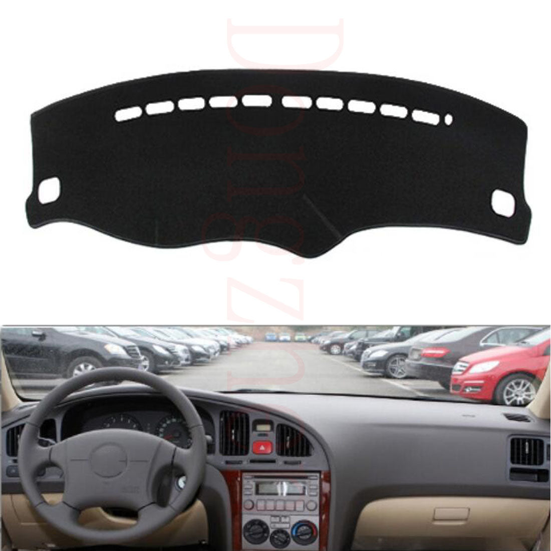 Dashboard Cover For Hyundai Elantra 2004 to 2011,  - Any Car Accessories