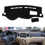 Dashboard Cover For Hyundai Accent 2009 to 2011,  - Any Car Accessories
