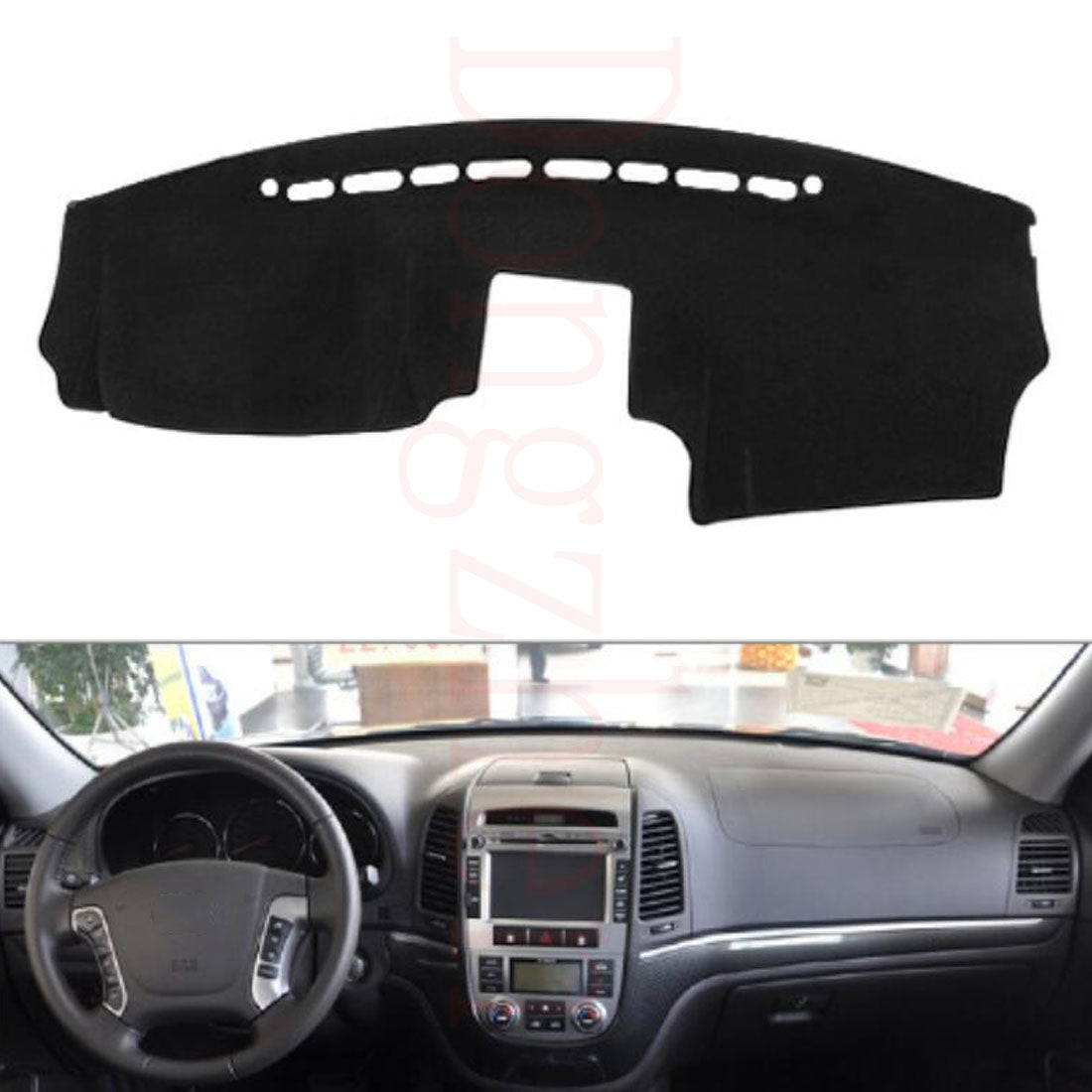Dashboard Cover For HYUNDAI Santafe 2009 - 2012,  - Any Car Accessories