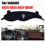 Dashboard Cover For Infiniti EX25 EX35 EX37 QX50,  - Any Car Accessories
