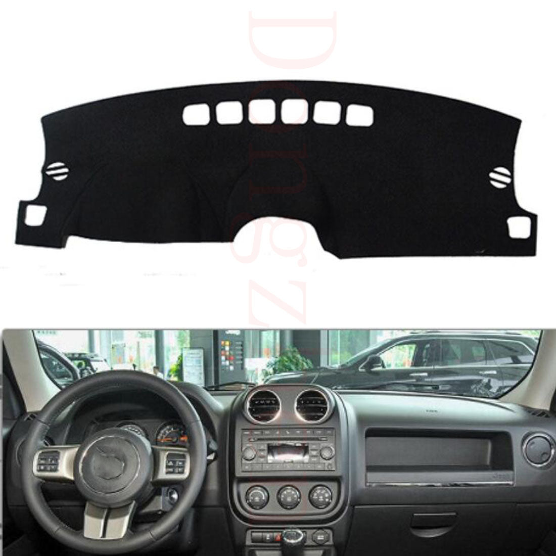 Dashboard Cover For Jeep Compass Patriot 2010-2015,  - Any Car Accessories
