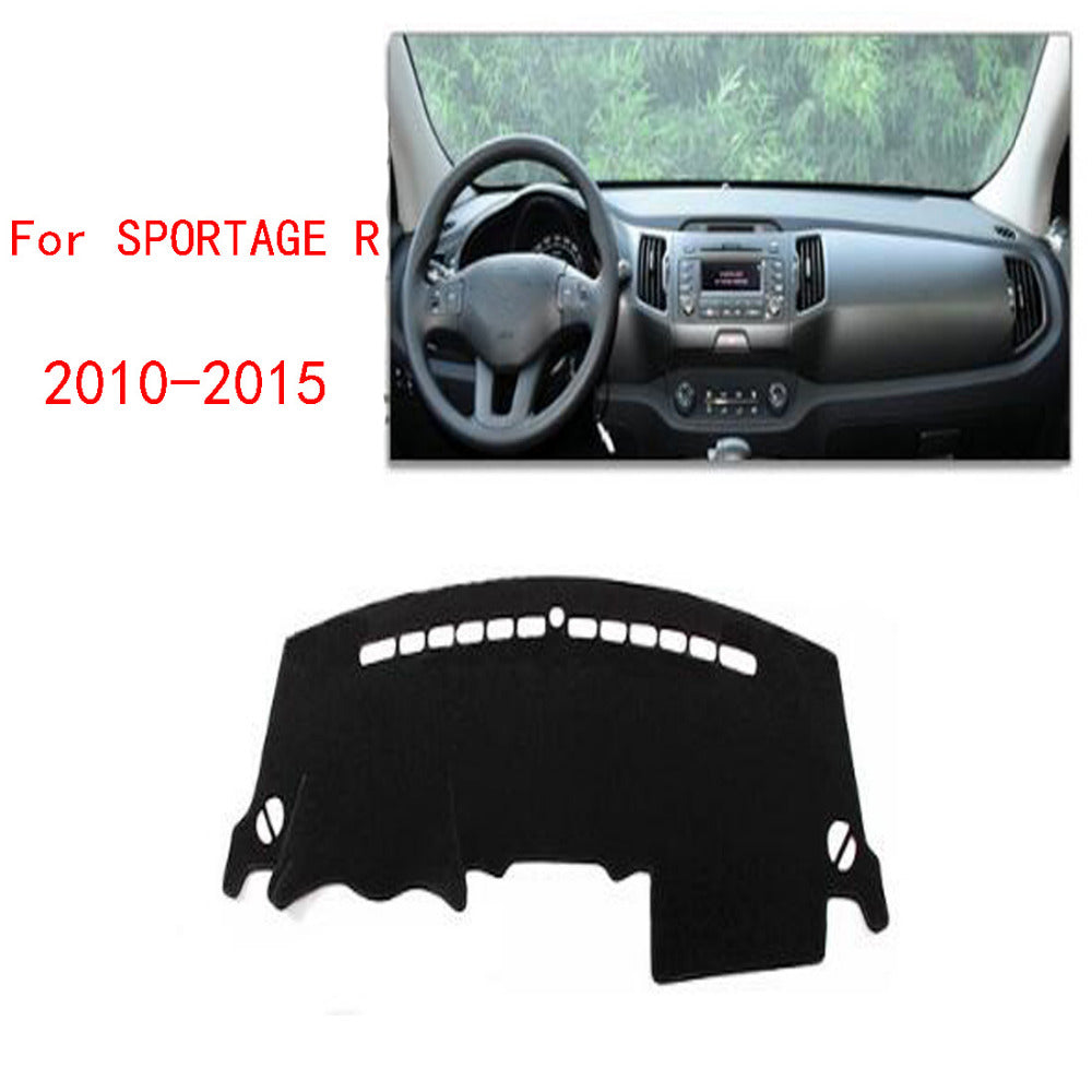 Dashboard Cover For KIA SPORTAGE R 2010 to 2015,  - Any Car Accessories