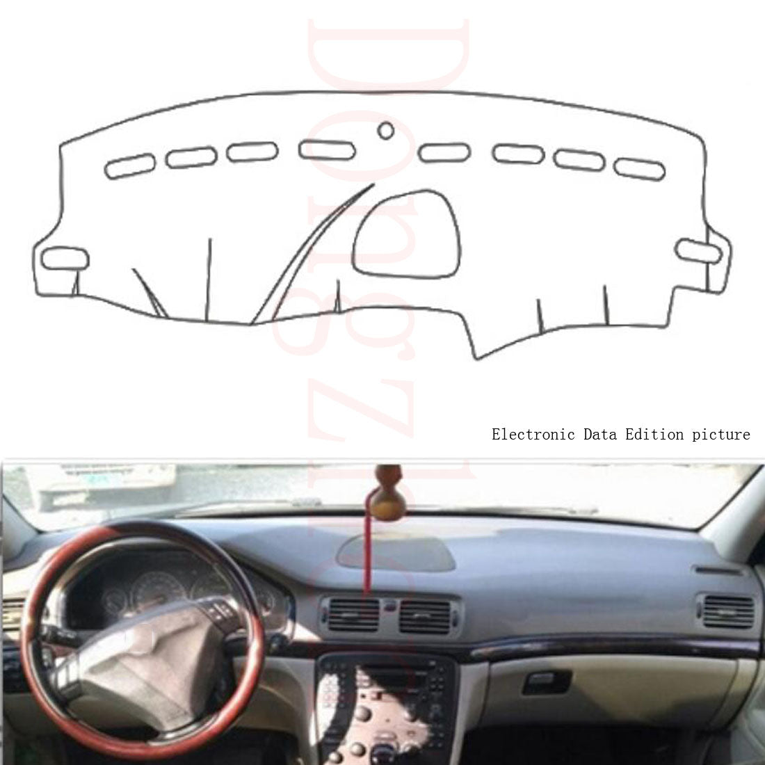 Dashboard Cover For Volvo S80 2004-2006,  - Any Car Accessories
