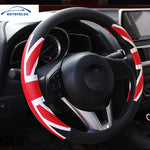 Auto Steering Wheel Cover 38cm,  - Any Car Accessories