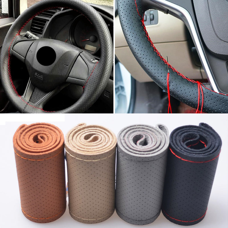 Car Steering Wheel Cover 38cm,  - Any Car Accessories