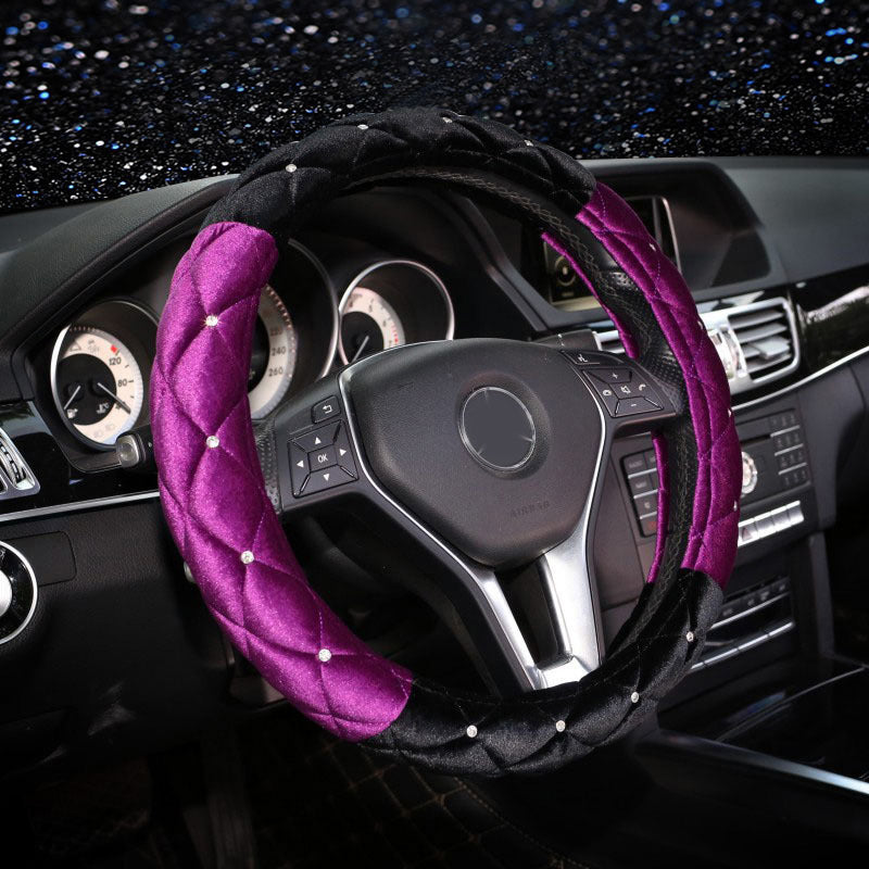 Luxury Steering Wheel Cover For Mercedes-Benz BMW Audi,  - Any Car Accessories