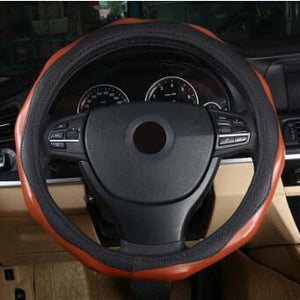 Steering Wheel Cover 38cm/36cm,  - Any Car Accessories