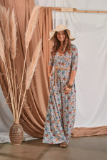 Long sleeved jumpsuit with ruffle