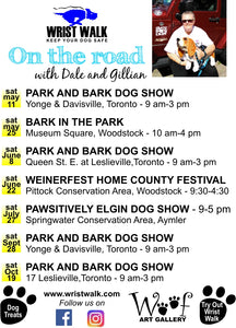 Pawsitively Elgin Dog Show, Aylmer. Ontario - Saturday, July 27 - Come Visit Us