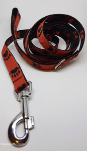 Wrist Walk Leash - Red/Black