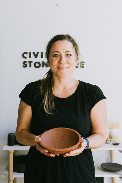 Reckon Creates: Ceramics and Pottery with Katherine Tucker of Civil Stoneware