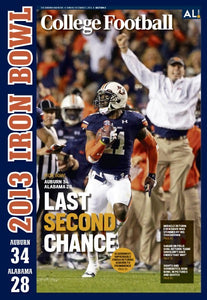 2013 Auburn Iron Bowl Last Second Chance Poster