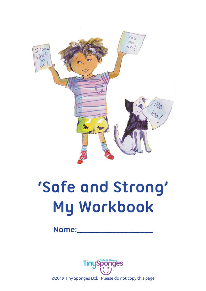"""How To Keep Safe..."" (Childminder workbook x3)"