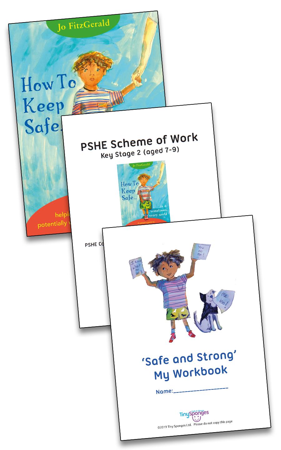 """How To Keep Safe..."" (Class set - Scheme of Work & Workbook)"