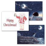 """Cold Toes at Christmas"" - Christmas cards (12)"