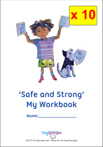 """How To Keep Safe...' (School Workbook x 10)"