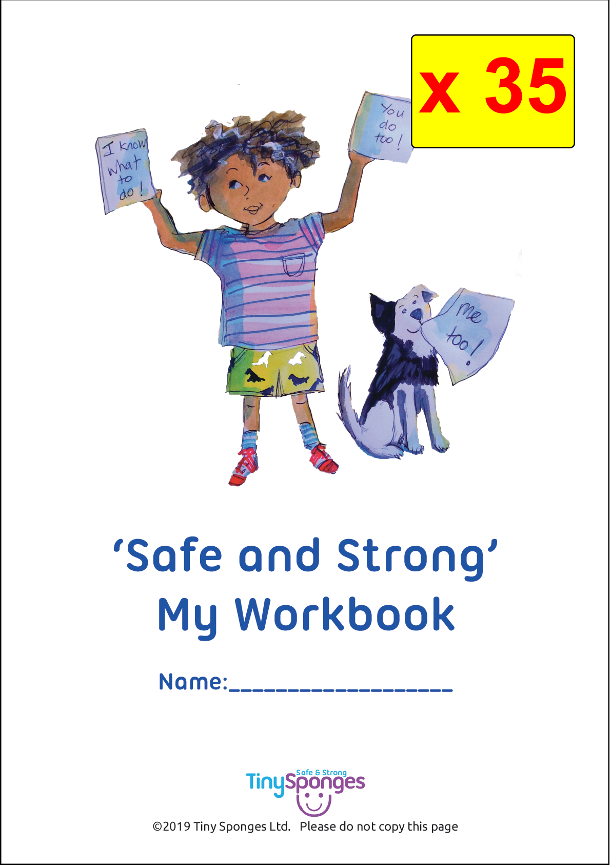 """How To Keep Safe...' (School Workbook x 35)"