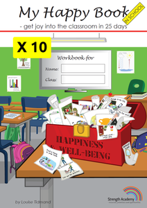 Happy Book System (Add-on pack: Workbook x 10)