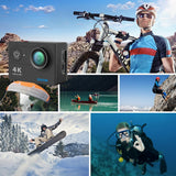Camera 4K EKEN H9 / H9R Ultra HD 4K WiFi 1080P/60fps 2.0 LCD waterproof - fairesavalise