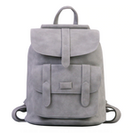 Vegan Leather Vintage Backpack by Toposhine for a Woman's Vegan Lifestyle