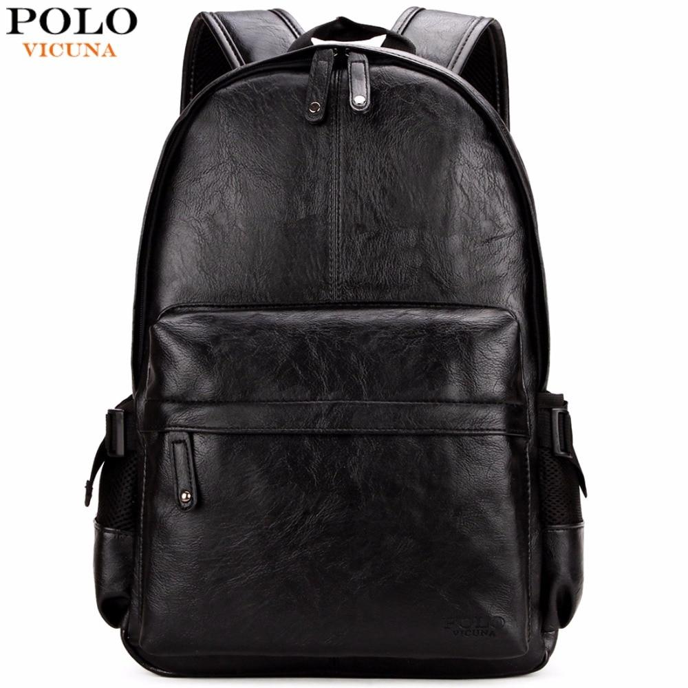 Bags-Vegan Leather Backpack by Polo Vicuna for a Man's Vegan Lifestyle-VeganSnatched.com