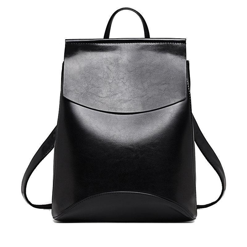Bags-Vegan Leather Backpack / Shoulder Bag by Zocilor for a Woman's Vegan Lifestyle-VeganSnatched.com