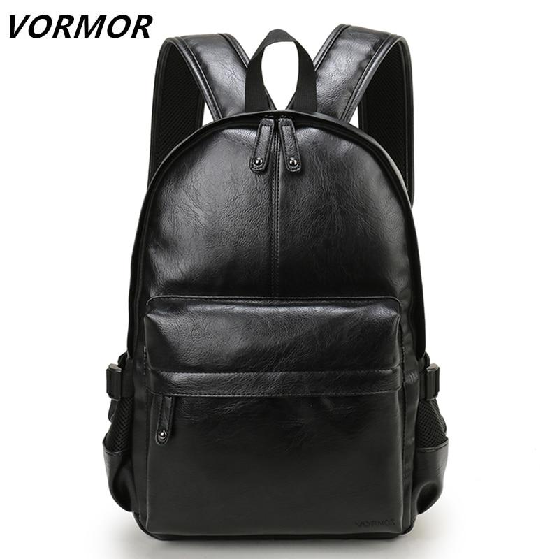 Bags-Vegan Leather Casual Backpack by Vormor for a Man's Vegan Lifestyle-VeganSnatched.com