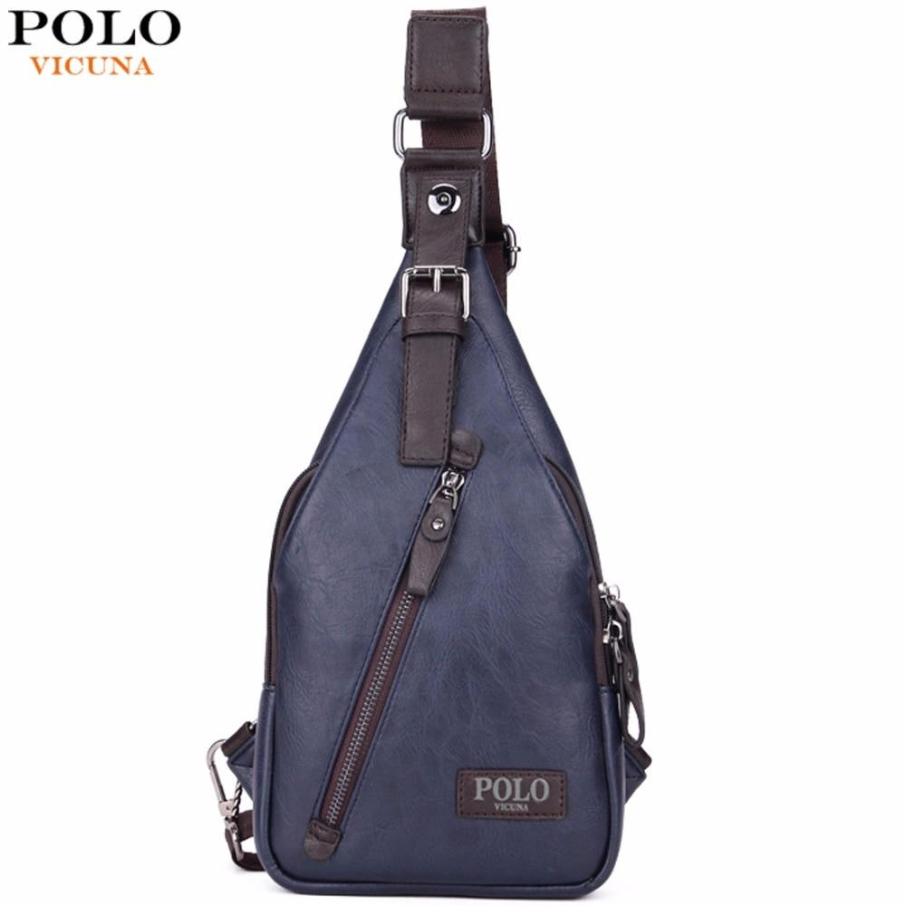 Bags-Vegan Leather Crossbody Bag by Polo Vicuna for a Man's Vegan Lifestyle-VeganSnatched.com