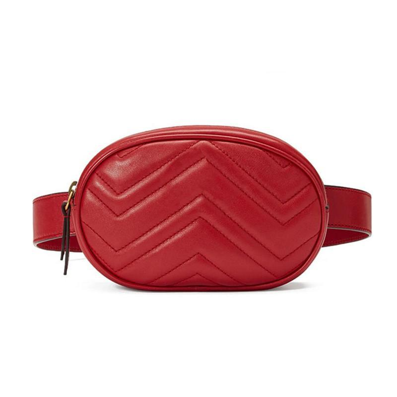 Bags-Red-Vegan Leather Waist Bag by Fein & Cici for any Vegan Lifestyle-VeganSnatched.com