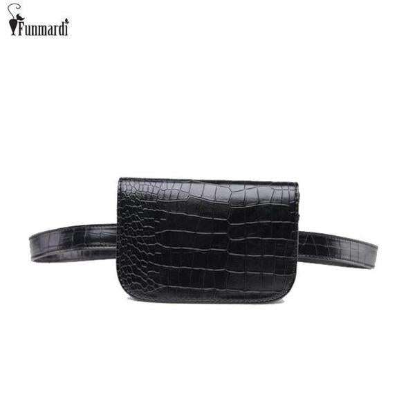 Bags-Vegan Leather Waist Bag by Funmardi for a Woman's Vegan Lifestyle-VeganSnatched.com