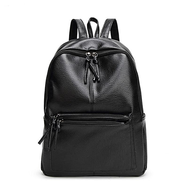 Bags-Vegan Leather Backpack by Bolish for a Woman's Vegan Lifestyle-VeganSnatched.com