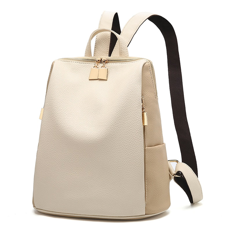 Bags-Vegan Leather Backpack by Likethis for a Woman's Vegan Lifestyle-VeganSnatched.com