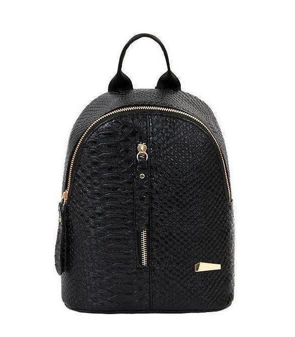 Bags-Vegan Leather Backpack by Suqi for a Woman's Vegan Lifestyle-VeganSnatched.com
